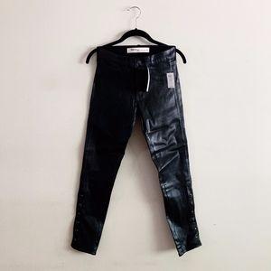 Gap Black Coated Skinny Jeans